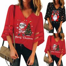blouse, Fashion, Tops & Blouses, trumpetsleeve
