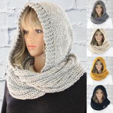 woolen, knitted, women scarf, Ladies Fashion