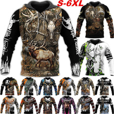 3D hoodies, Fashion, Hunting, huntingcamoclothing