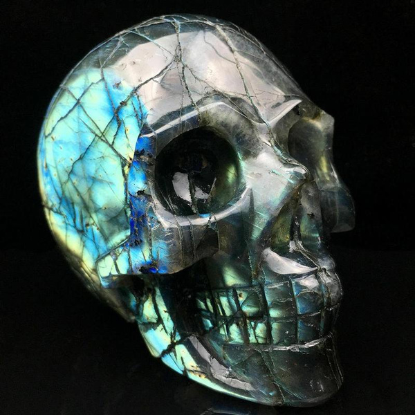 skulldecoration, quartz, Jewelry, Gifts