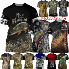 Hip-hop Style, Shorts, Graphic T-Shirt, Hunting
