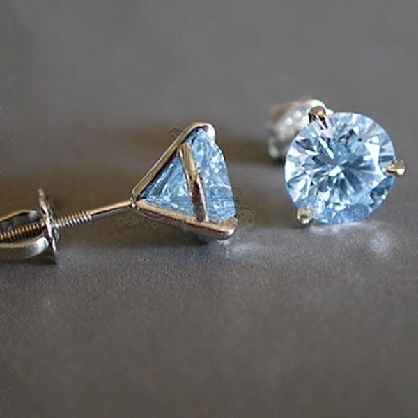 White Gold, Blues, DIAMOND, Sapphire