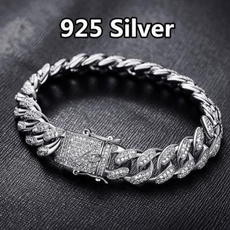hip hop jewelry, Christmas, DIAMOND, silver plated