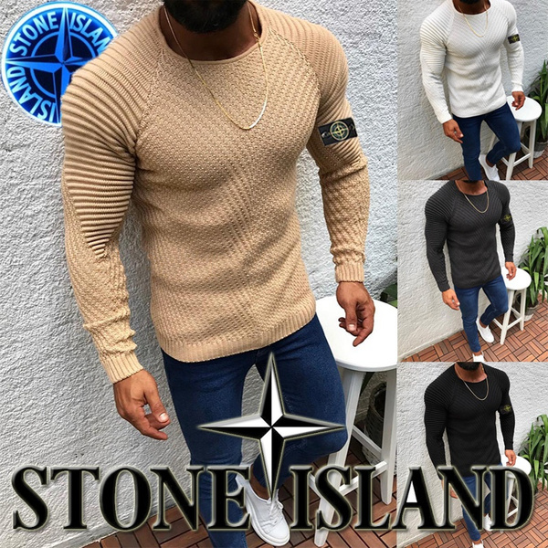 Round neck, Fashion, knitted sweater, Classics