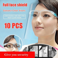 fullfacecover, transparentmask, eye, shield