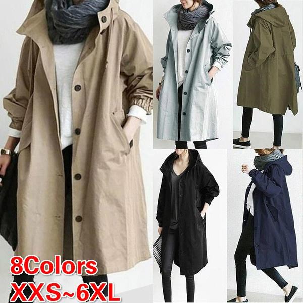 regenjackedamen, waterproofjacket, raincoatsforwomen, Casual Jackets