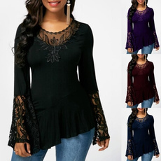 fashion women, Plus Size, Shirt, tunic top