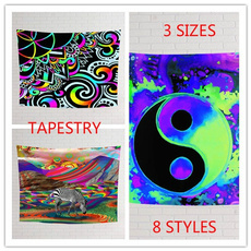 bedroom, Decor, art, tapestrypurple