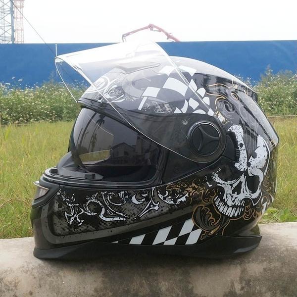 Helmet, capacete, motorbike, skull