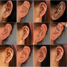 Copper, Jewelry, Stud Earring, retro earrings