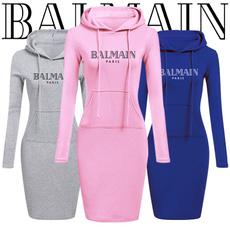 slim dress, Fashion, Winter, Sleeve