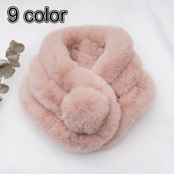 Fur scarf, women scarf, Shawl Wrap, fur collar