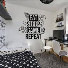 Video Games, art, Home Decor, treewallsticker