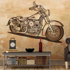 Decor, Motorcycle, Wall Art, wallvinyl