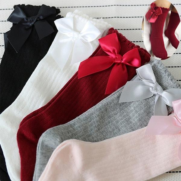 cutesock, Cotton Socks, Princess, Knee High