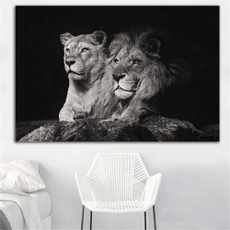 canvasprint, unframed, Black And White, Posters