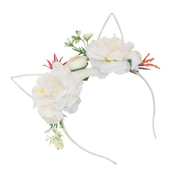 decoration, simulationflowerheadband, flowerhairhoop, stylishheadband