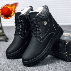 ankle boots, Outdoor, Winter, PU Leather