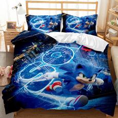 King, 3pcsbeddingset, Polyester, bedclothe