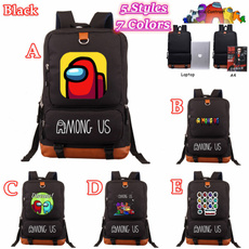 amonguspatternedstudentschoolbag, Outdoor, youthoutdoorsportcasualbag, Bags