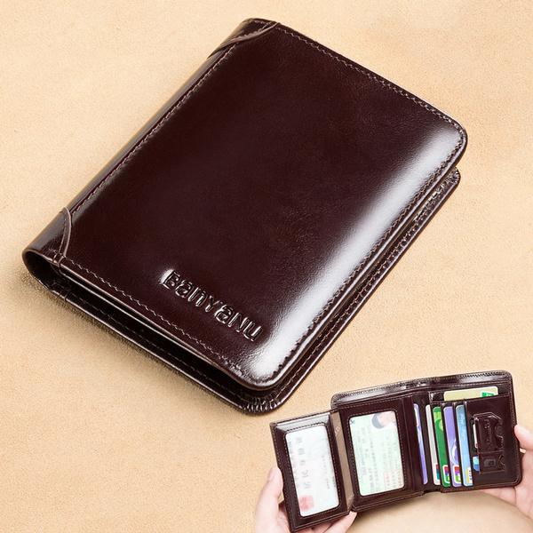 leather wallet, shortwallet, Shorts, Classics