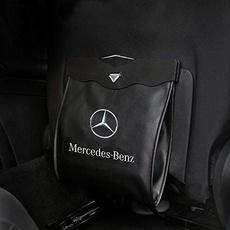 garbagebag, Mercedes, Cars, wastebasket