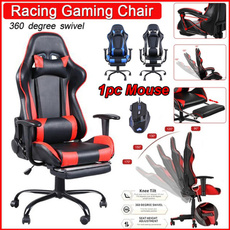 swivel, ergonomicgamingchair, led, leathergamingchair