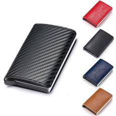 Mini, leather wallet, Fiber, Magic