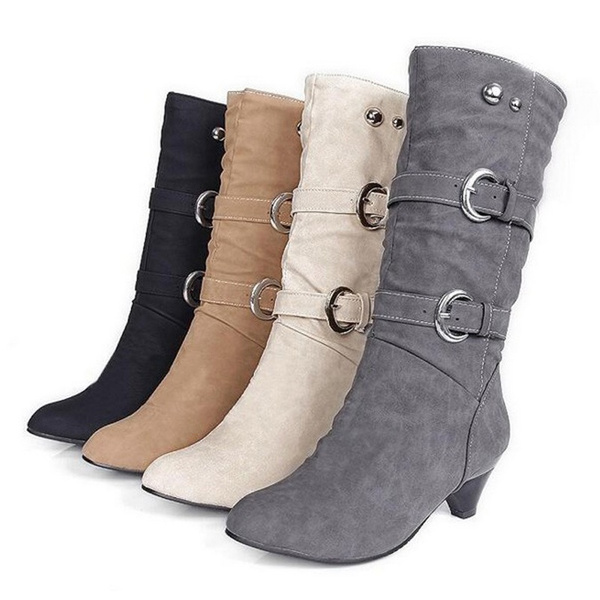 Shoes, midcalfboot, long boots, Boots