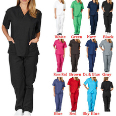 workuniform, tunic, medicalscrub, 2pcsset