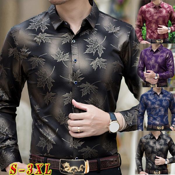 shirtsformenlongsleeve, Fashion, leaf, Shirt