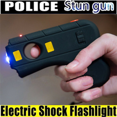 Flashlight, stungun, weaponaccessorie, electricshock