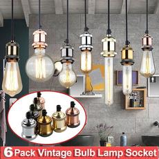 edisonbulbsocket, Aluminum, decorativelighting, Vintage