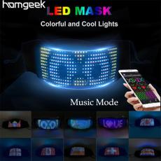 ledfacecover, lights, led, Music