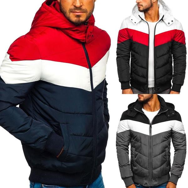 Pocket, men coat, Fashion, Winter