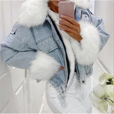 Jeans, Fashion, fur, Winter