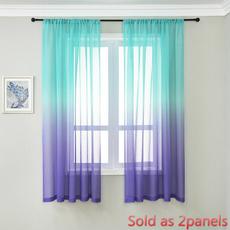 gradientcolor, living room, voliecurtain, Door