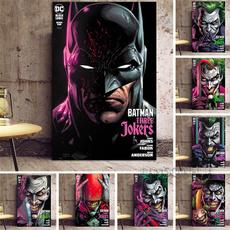 batmanjokerpainting, jokerwallpainting, batmanjoker, Batman