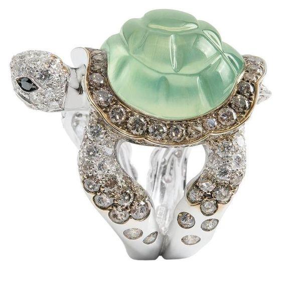 Turtle, ringsformen, Fashion, 925 sterling silver