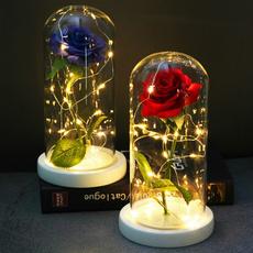 glasslampshadenightlight, led, gold, Glass