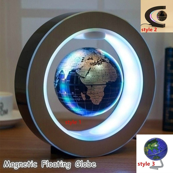 Map, led, lights, Magnetic