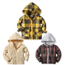 khaki, Hoodies, Long Sleeve, Spring