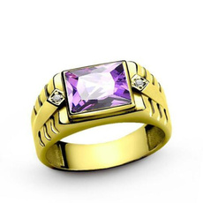 Sterling, 925 sterling silver, gold, Engagement Ring