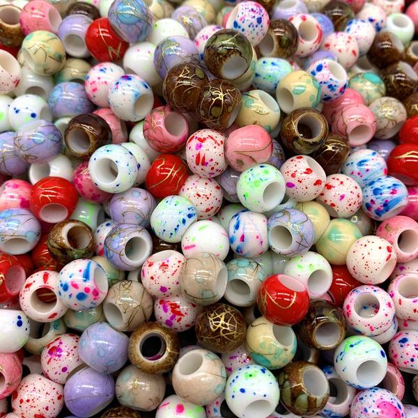 acrylicbead, Jewelry, Jewelry Making, bigholebead