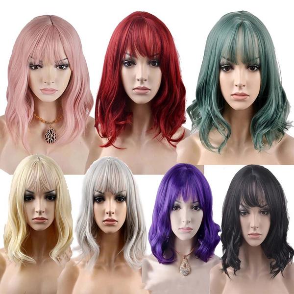 wig, wigshumanhair, Shorts, wigsforwomen