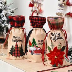 Bottle, Cloth, redwineset, winebottledecoration