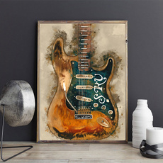art print, decoration, Decor, classicalinstrument