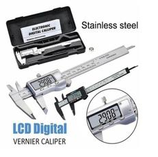 Steel, Fiber, Stainless Steel, lcddigitalcaliper