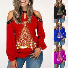 Plus Size, Women Blouse, Long Sleeve, topsamptshirt