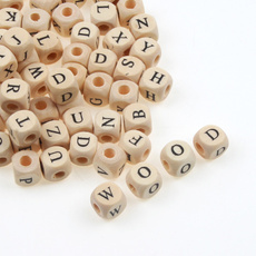 Square, Jewelry, letterbead, Wooden